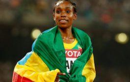 ETHIOPIA'S ALMAZ AYANA, USAIN BOLT NAMED WORLD ATHLETES OF THE YEAR 2016