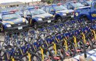 NEIGHBOURHOOD CORPS GET 177 VEHICLES, 377 MOTORCYCLES 4,000 BICYCLES