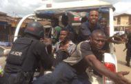 MUSHIN MAYHEM: POLICE ARREST 8 HOODLUMS IN IDI-ORO