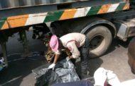 TRAILER GRINDS OLAYIWOLA, OKADA RIDER TO DEATH IN LAGOS