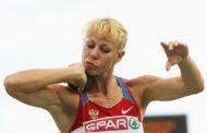 DOPING: IOC SANCTIONS RUSSIA'S  TATIANA CHERNOVA, DYLDIN