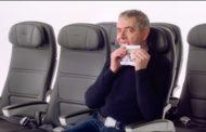 CELEBRITIES  DEMONSTRATE SAFETY IN NEW BRITISH AIRWAYS VIDEO