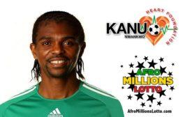 EX-NIGERIAN FOOTBALLER KANU NWANKWO LAUNCHES N1 BN JACPOT FOR HEART FOUNDATION