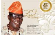 PA NUMBERS MOBOLORUNDURO ADEBAWO GOES HOME
