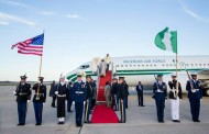 BUHARI ARRIVES WASHINGTON FOR NUCLEAR TALKS