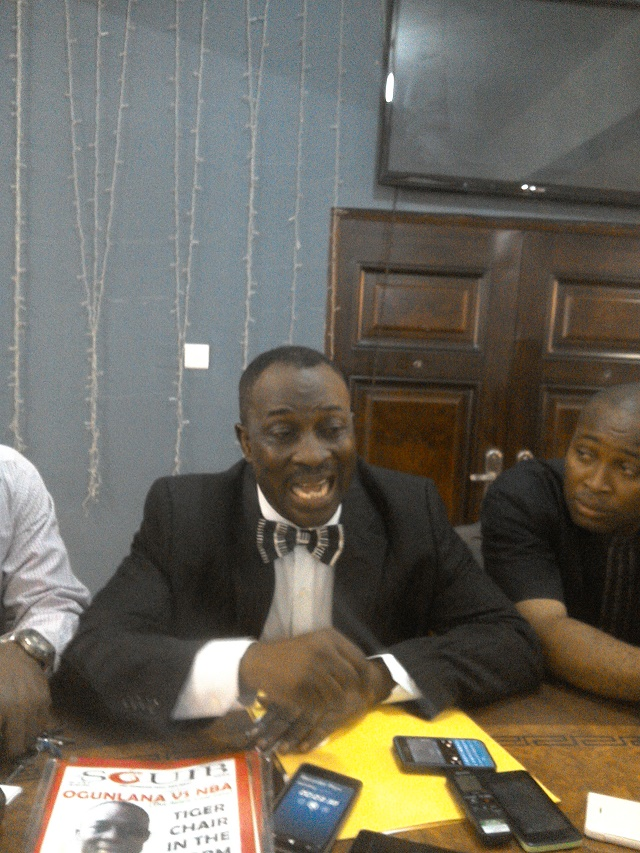 IKEJA NBA ELECTION: ADESINA OGUNLANA ELECTED UNOPPOSED
