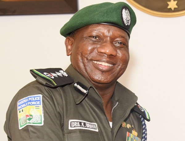 IGP IBRAHIM  IDRIS BEGS COURT TO STOP SENATE PROBE OF HIS ALLEGED EXCESSES