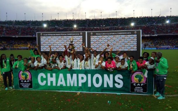SUPER FALCONS BEAT CAMEROON, RETAIN WOMEN AFRICA CUP OF NATIONS
