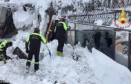 HOTEL RIGOPIANO: EIGHT PEOPLE, DOGS RESCUED ALIVE FROM AVALANCHE