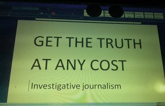 CENTRE FOR PUBLIC INTEGRITY WINS PULITZER PRIZE FOR INVESTIGATIVE JOURNALISM