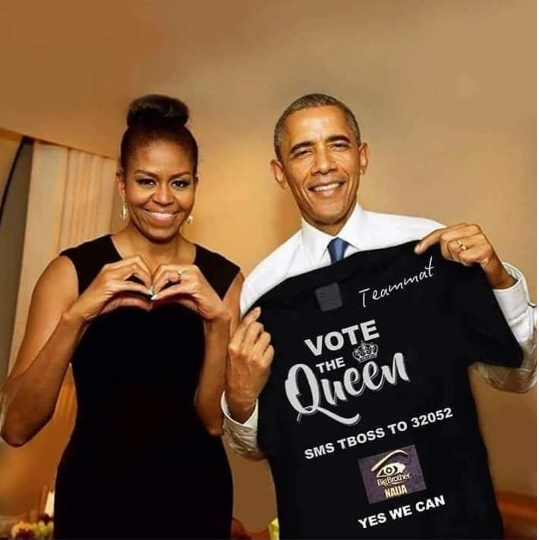 BBN: OBAMA, WIFE RALLY SUPPORT FOR TBOSS AHEAD OF EVICTION SHOW