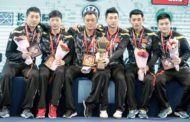 CHINA CLAIMS 21ST MEN'S TEAM GOLD IN WUXI, CHINA
