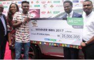 HERITAGE BANK, DSTV PRESENTS N25M, KIA SUV TO EFE, WINNER BBN 2017