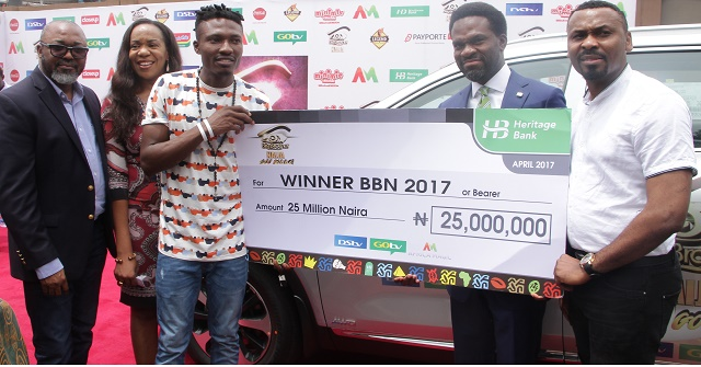 HERITAGE BANK, DSTV PRESENTS N25M, KIA SUV TO EFE, WINNER BBN 2017