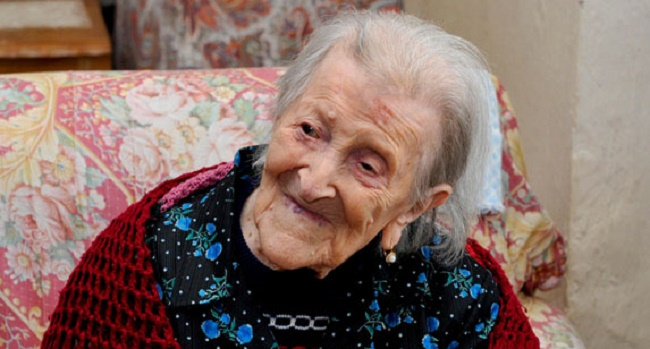 EMMA MARTINA LUIGIA MORANO, WORLD'S OLDEST PERSON DIES AT 117