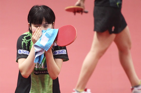 MIU HIRANO, JAPANESE TEENAGER BECOMES ASIAN CHAMPION OF TABLE TENNIS