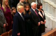 RUSSIA'S BAN: TRUMP, PENCE  ATTEND MEETING OF JEHOVAH'S WITNESS IN US
