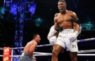 BOXER ANYHONY JOSHUA, THE REJECTED STONE HAS BECOME THE CHIEF CORNER STONE