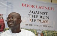 OLUSEGUN ADENIYI CRIES FOUL AS HACKERS CRACK CODE, CIRCULATE HIS BOOK, 'AGAINST THE RUN OF PLAY' ONLINE