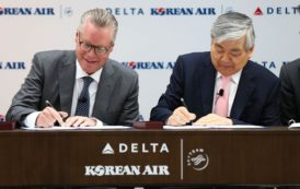 DELTA, KOREAN AIR CREATES LEADING TRANS-PACIFIC JOINT VENTURE
