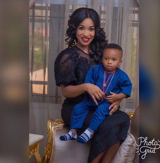 TONTO DIKE SHOWS OFF SON, SAYS GREATNESS ONLY HAS PASSION