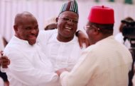 WIKE, UMAHI, SAMUEL ORTOM MEET AT PEACE PARLEY OVER HATE SPEECH WITH AG PRESIDENT