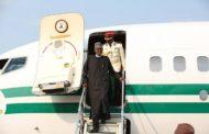 MUHAMMADU BUHARI ARRIVES  NIGERIA, SEE PICTURES