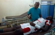 SUNDAY ADETUNJI UNDERGOES SUCCESSFUL SURGERY ON FRACTURED ARM