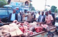 LAGOS BANS USE OF MOTORBIKES, AIR COOL VANS FOR MEAT TRANSPORTATION