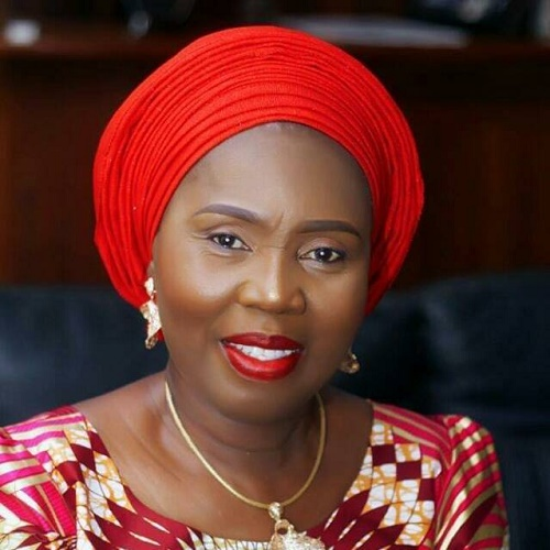 MRS AKEREDOLU WINS ADVOCACY CHANGE CHAMPION AWARD
