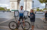 CYCLIST, MARK BEAUMONT GOES ROUND THE WORLD UNDER 80 DAYS, BREAKS GUINNESS WORLD RECORD