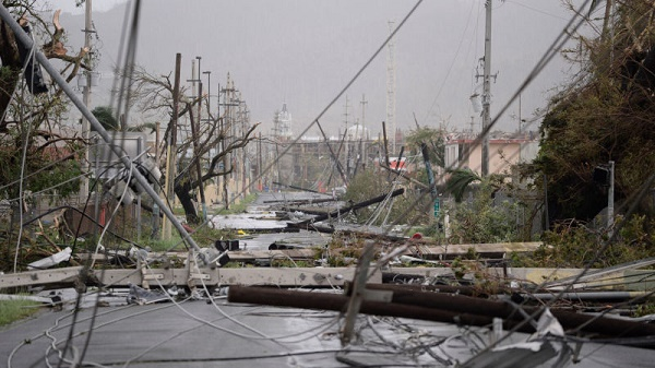 JEHOVAH'S WITNESSES SURVIVE AS  DEADLY HURRICANE MARIA KILLS 16 IN PUERTO RICO