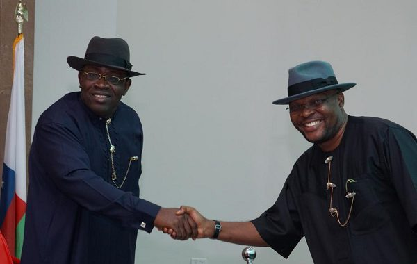 Image result for Gov Dickson swears-in Iworiso-Markson as Information Commissioner