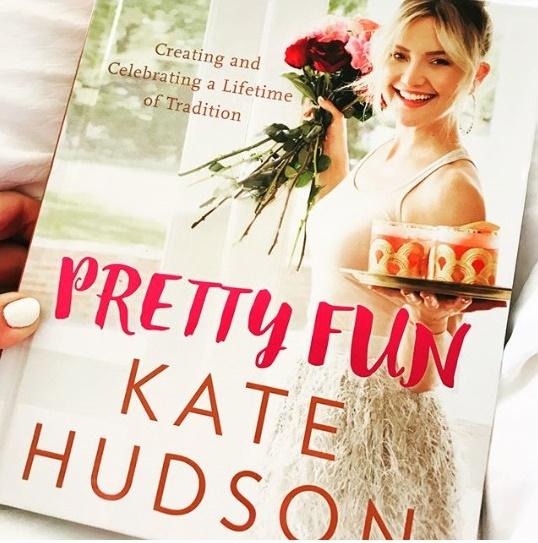 KATE GARRY HUDSON DEBUTS WITH BOOK, PRETTY FUN