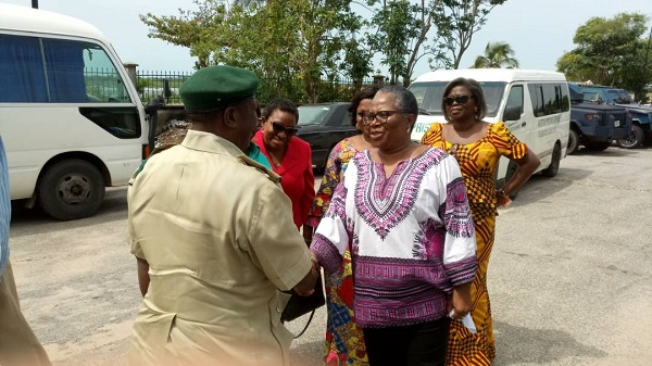 ONYEKA ONWENU'S MOTHERLY TOUCH FOR INMATES OF DEPLORABLE BADAGRY PRISON