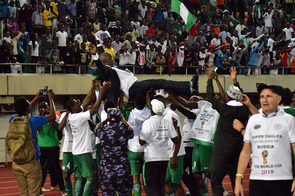 MENTAL STRENGTH WILL KEEP SUPER EAGLES FLYING IN RUSSIA 2018 - PINNICK