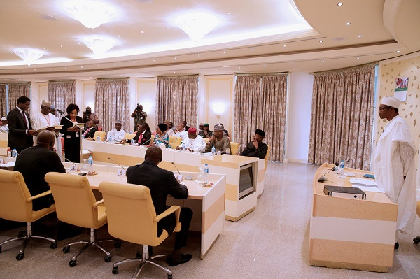 BUHARI INAUGURATES 22 MAN COMMITTEE TO AUDIT RECOVERED LOOTED FUNDS
