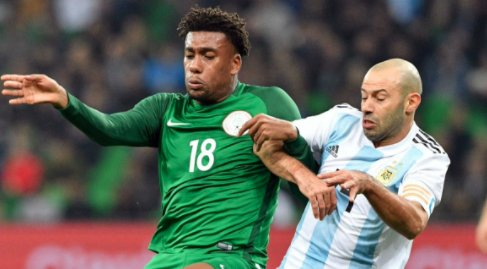 SUPER EAGLES OF NIGERIA BEAT ARGENTINA 4 -2 IN RUSSIA