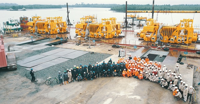 TOTAL SAYS ENGINA PROJECT WILL BE COMPLETED IN 2018 WITHIN INITIAL BUDGET OF 16 BILLION USD