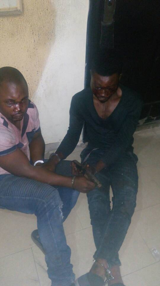 POLICE ARRESTS NOTORIOUS KIDNAPPERS IN LAGOS