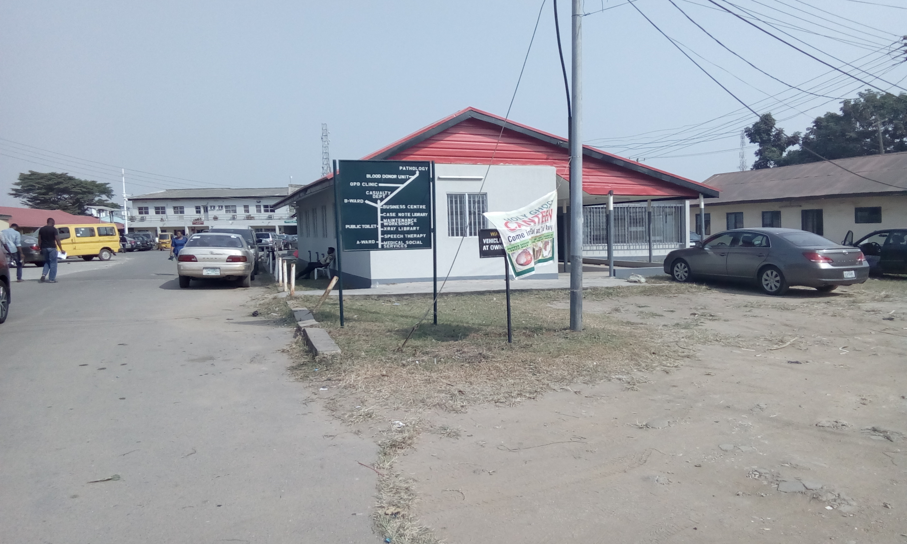 PATIENTS BEWARE: AT IGBOBI ORTHOPEDIC HOSPITAL, A  BED SPACE COSTS N10,000 IN 20 MINUTES