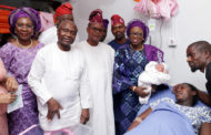FIRST LADY OF LAGOS RECEIVES FIRST BABIES OF 2018