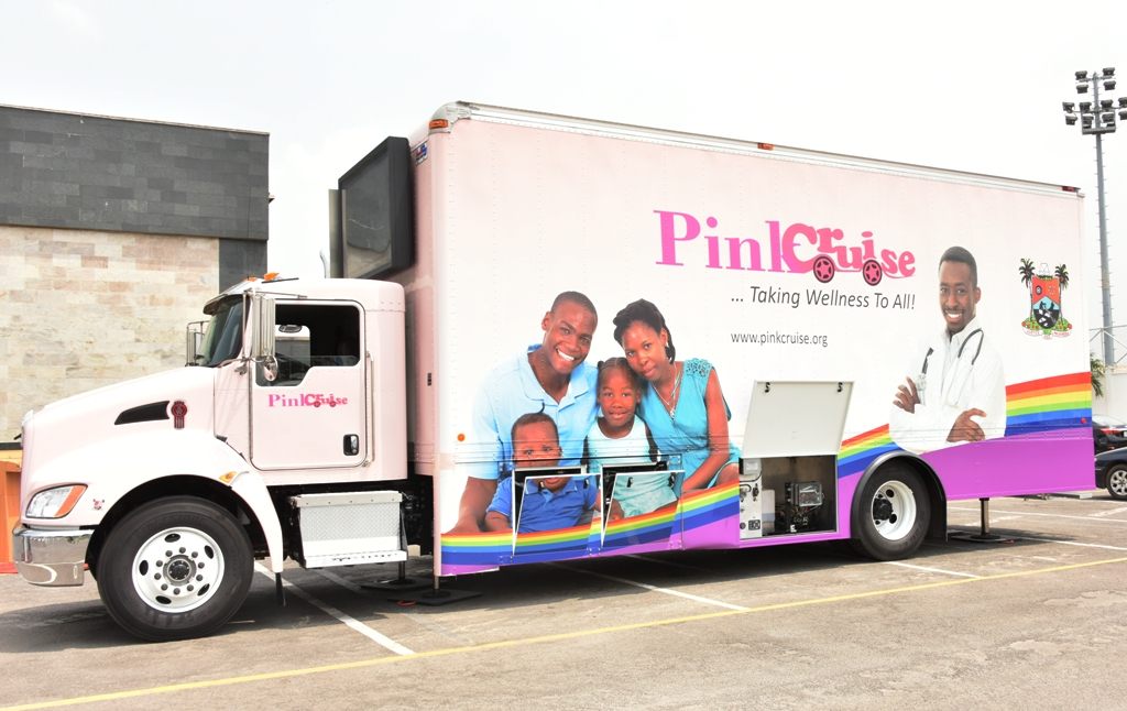 AMBODE INAUGURATES N365M MOBILE CLINIC FOR CANCER TREATMENT