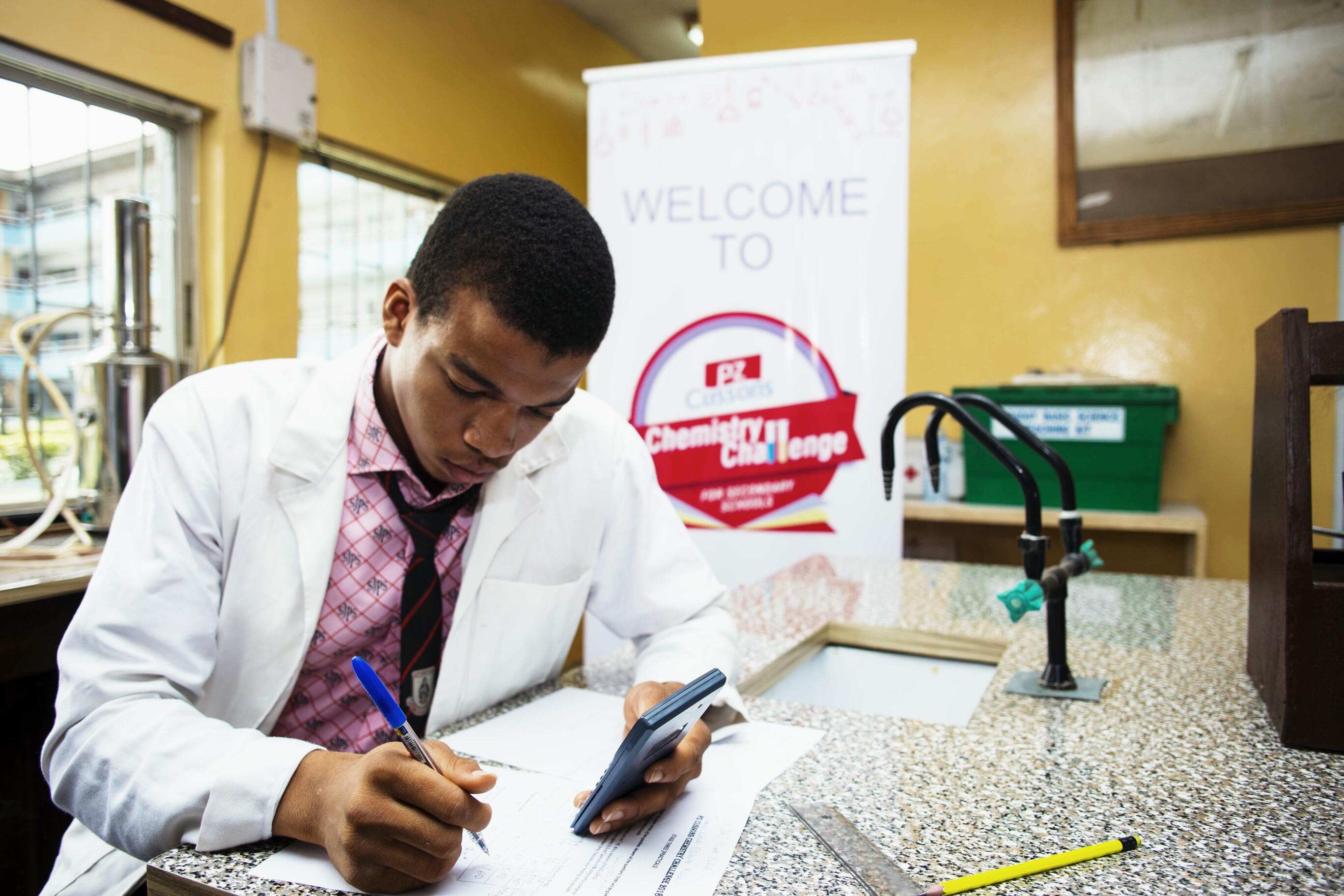 Six Schools for PZ Cussons Chemistry Challenge Finale
