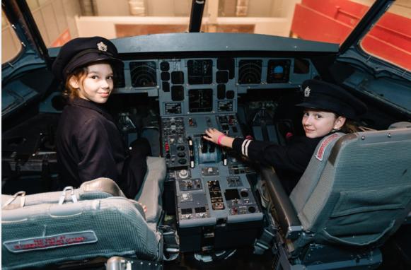 1, 500 children train with British Airways as pilots, cabin