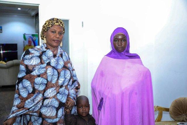 Zulum reunites returnee Chibok girl with parents